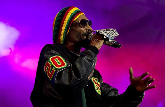 Snoop Dogg at White Oak Amphitheater