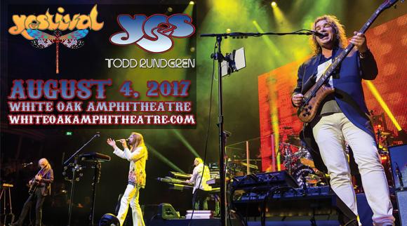 Yes, Todd Rudgren & Carl Palmer's ELP Legacy at White Oak Amphitheater