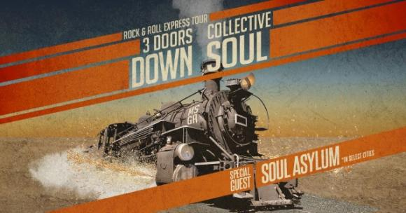 3 Doors Down & Collective Soul at White Oak Amphitheater
