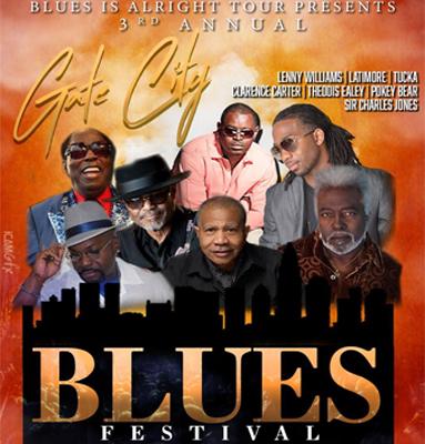 Gate City Blues Festival: Sir Charles Jones, Pokey Bear, Lenny Williams & Lattimore at White Oak Amphitheater
