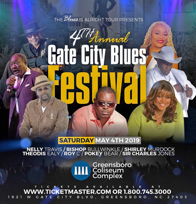 4th Annual Gate City Blues Festival at White Oak Amphitheater