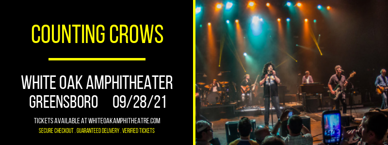 Counting Crows at White Oak Amphitheater